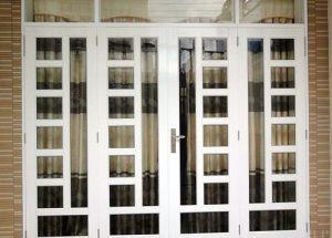 Thi công cửa kính nhôm cho văn phòng,cửa hàng tại  Bình Tân TpHCM